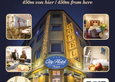 City Light Poster für das City Hotel Bremerhaven