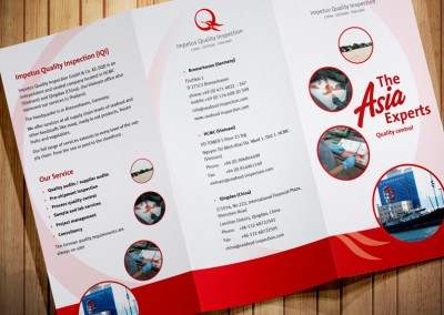 Flyer Impetus Quality Inspection