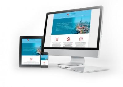 Webdesign Dr. Bernauer Kardiologie Bremerhaven