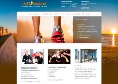 Webdesign VitalDesigner PT-Lounge