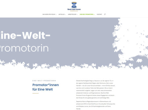 Webdesign Nord-Süd Forum Bremerhaven