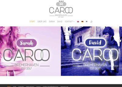 Webdesign Webshop Caroo