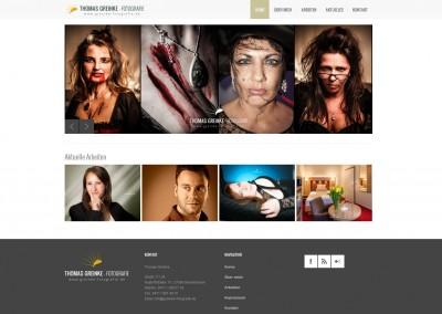 Webdesign Greinke Fotografie
